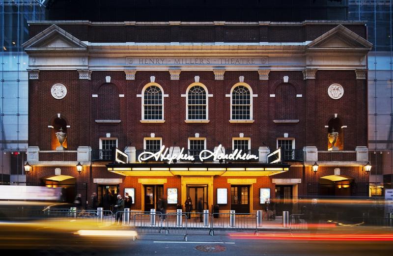 Project image 7 for Signage for Stephen Sondheim Theatre, Durst Organization