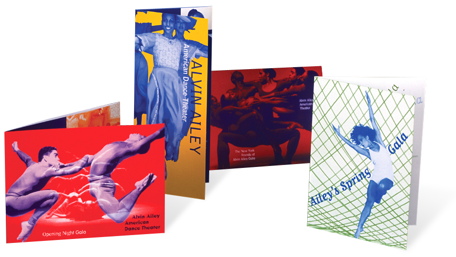 Project image 2 for 30th Anniversary Tour Poster and Brochures, Alvin Ailey American Dance Theater