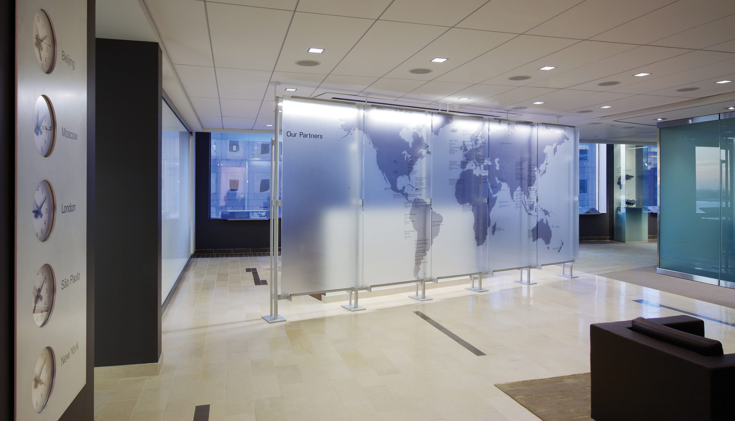 Project image 1 for Partner Briefing Center, American Express