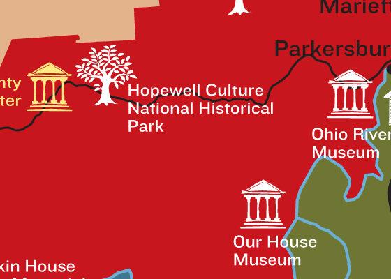 Visit Appalachia Map