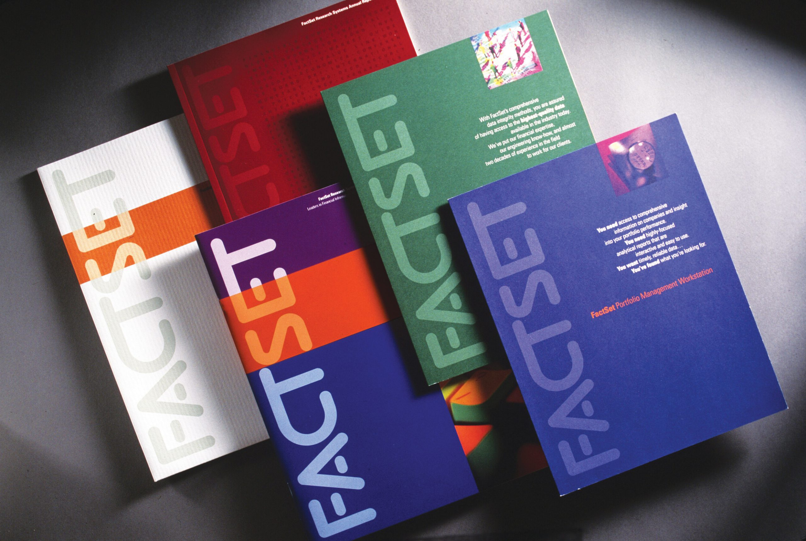 Project image 1 for Print Communication, FactSet Research Systems