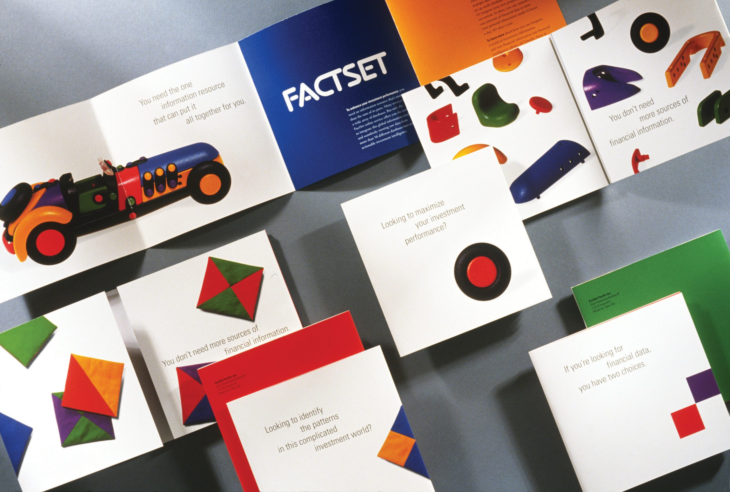 Project image 4 for Print Communication, FactSet Research Systems