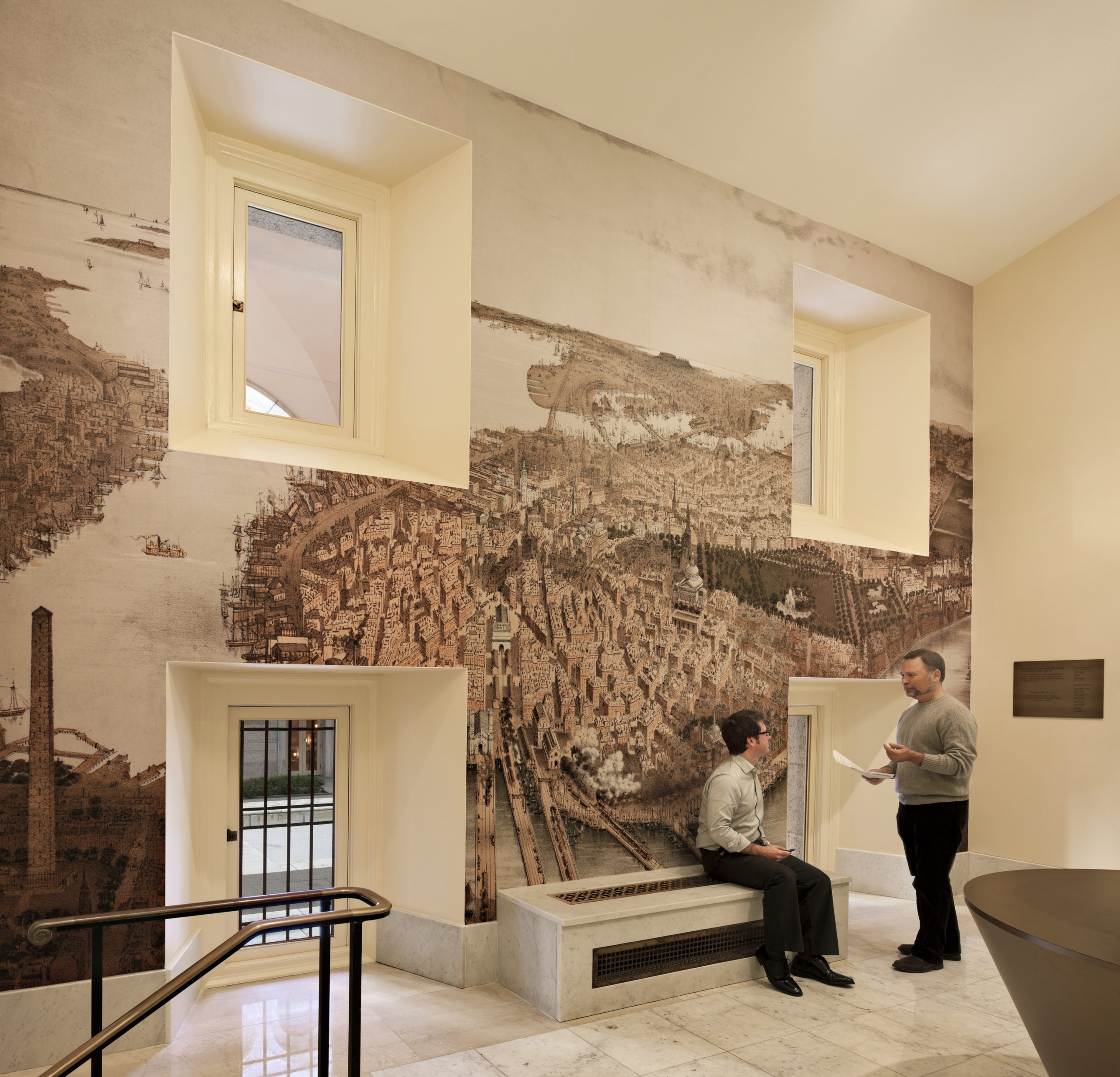 Project image 6 for Norman B. Leventhal Map Center, Boston Public Library