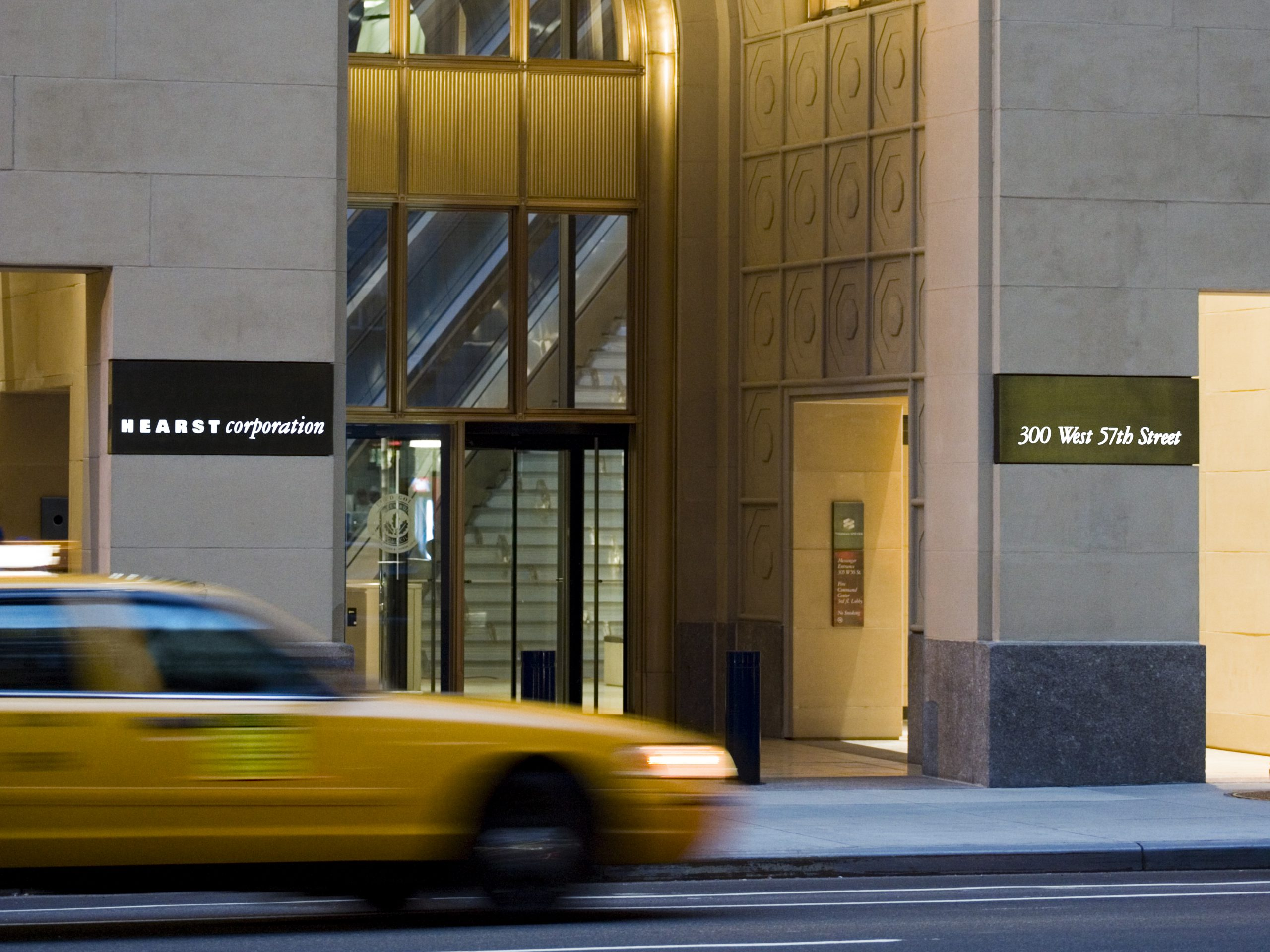 Project image 2 for Hearst Tower Signage, Hearst Corporation
