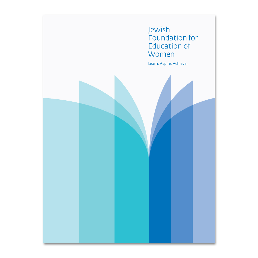 Project image 2 for JFEW Identity and Printed Matter, Jewish Foundation for Education of Women