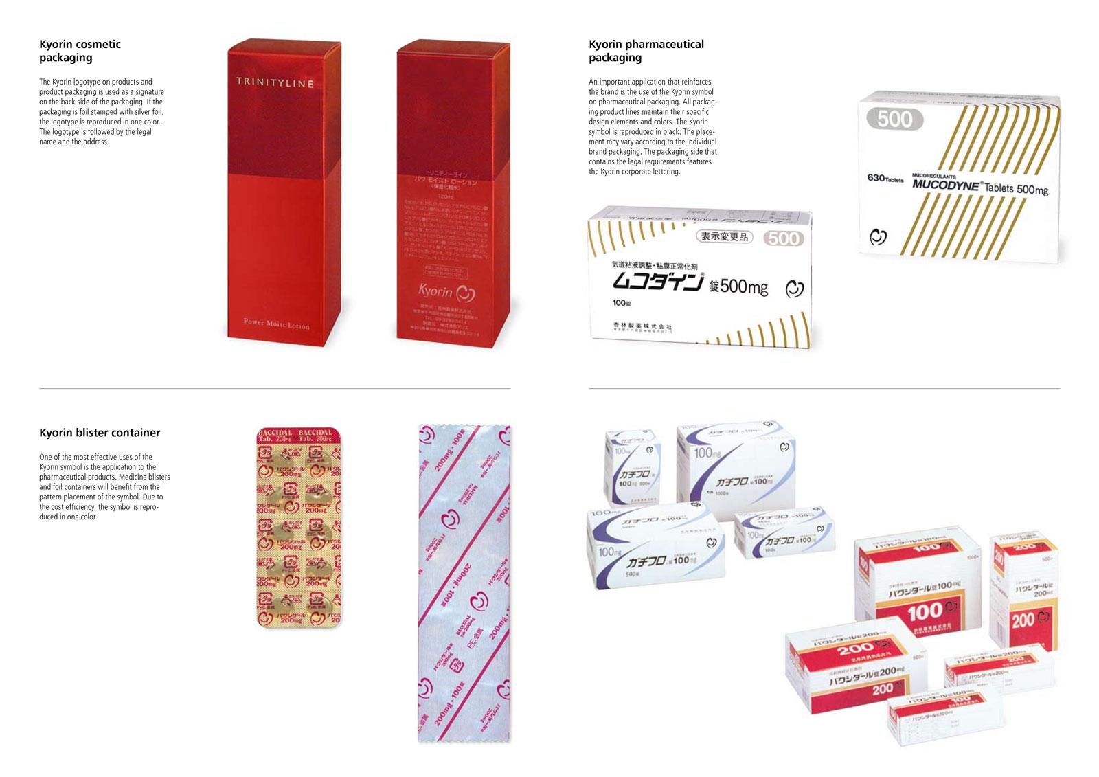 logo design for Pharmaceutical brand Kyorin