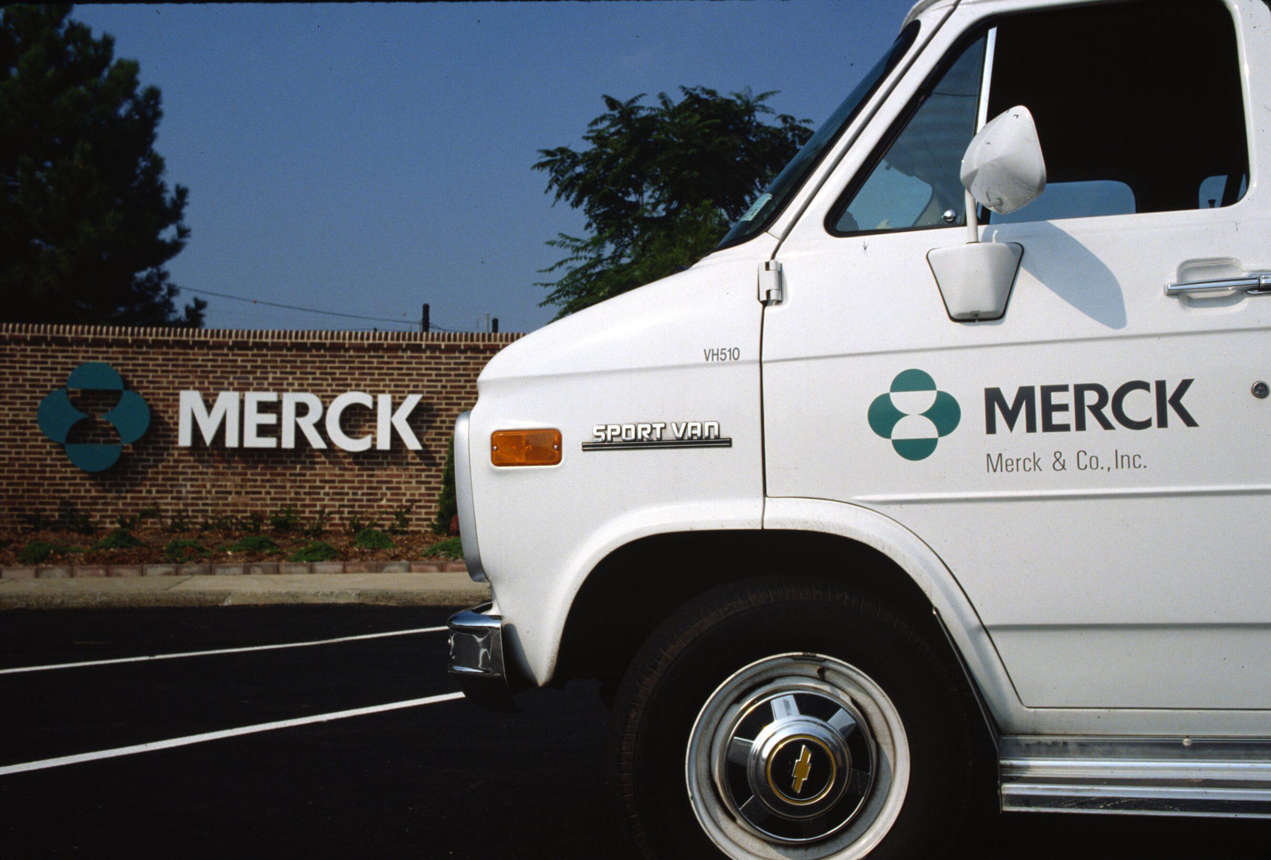 Pharmaceutical branding MERCK