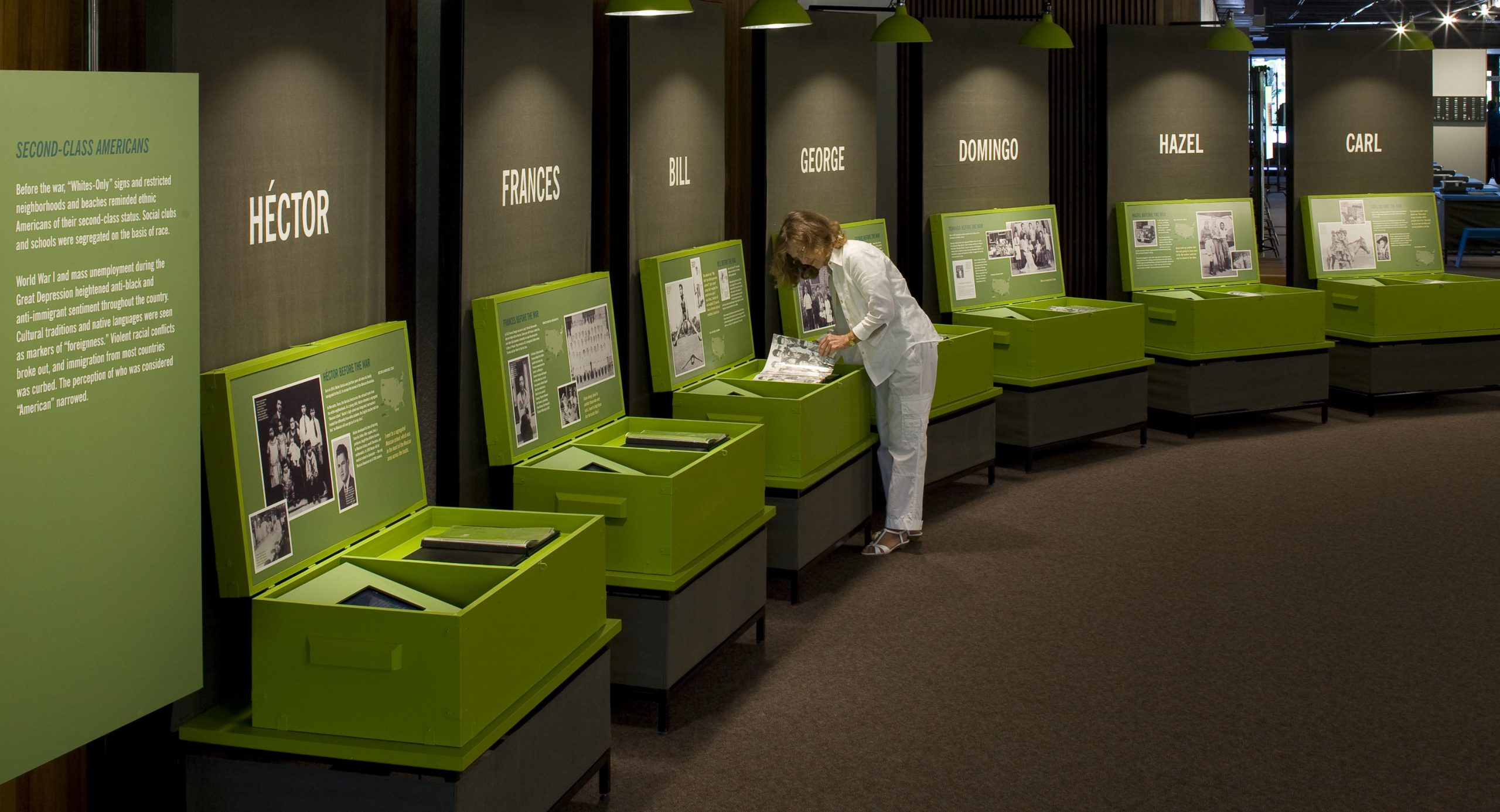 Project image 1 for Fighting for Democracy Traveling Exhibit, Japanese American National Museum