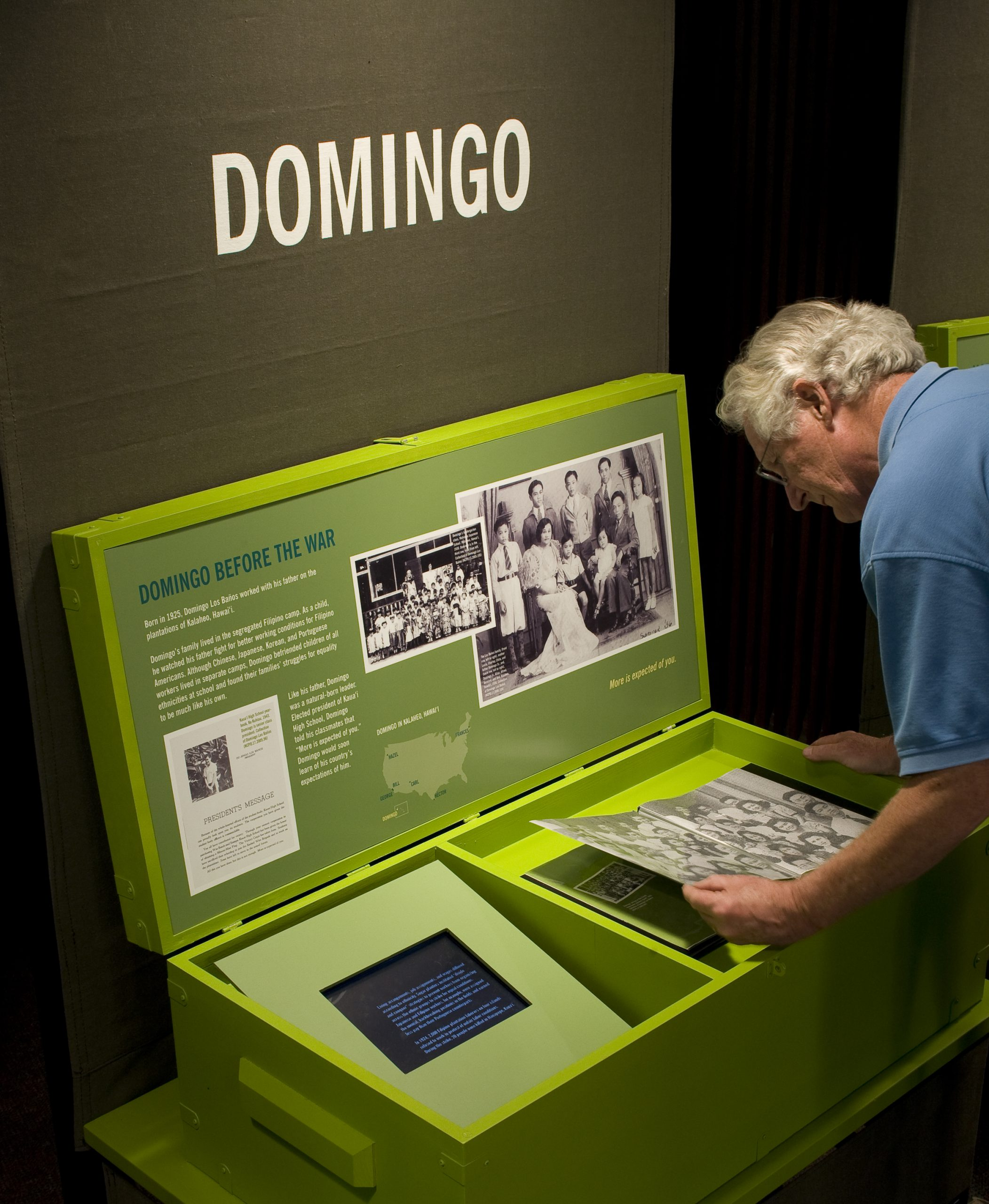 Project image 2 for Fighting for Democracy Traveling Exhibit, Japanese American National Museum