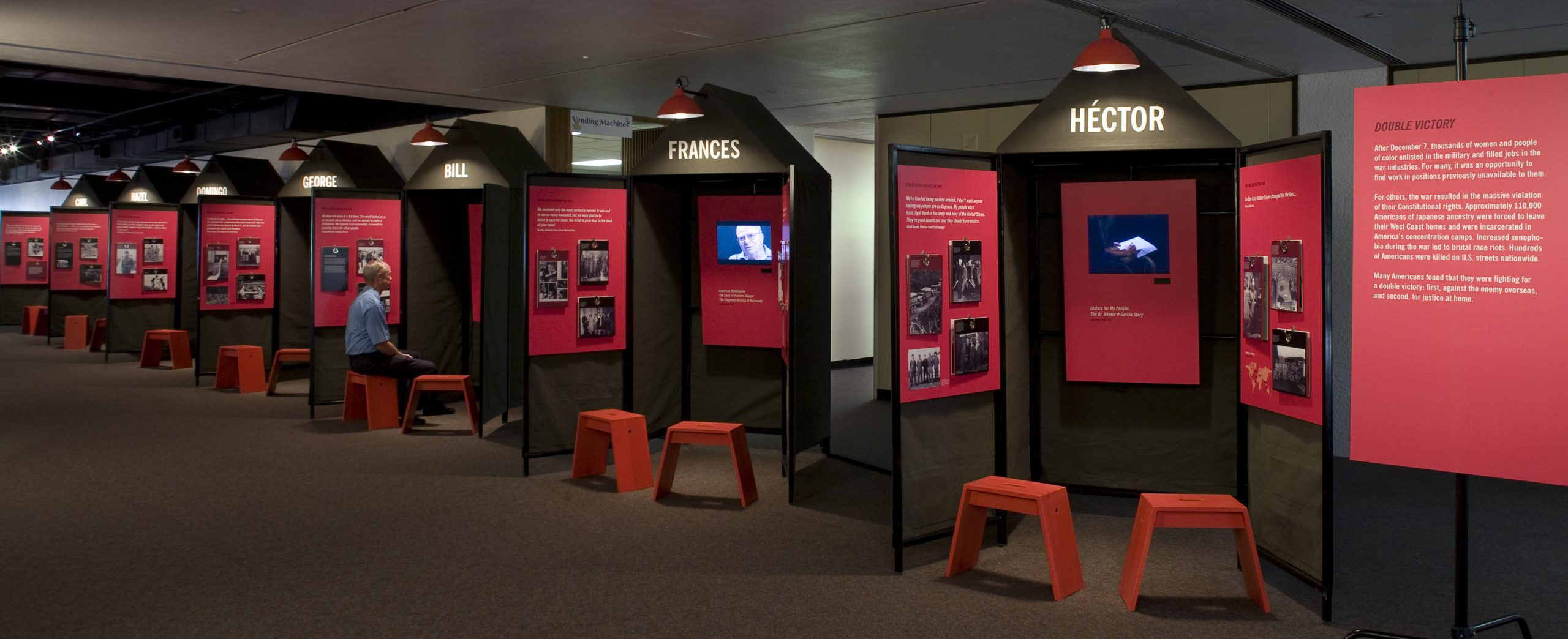 Project image 3 for Fighting for Democracy Traveling Exhibit, Japanese American National Museum