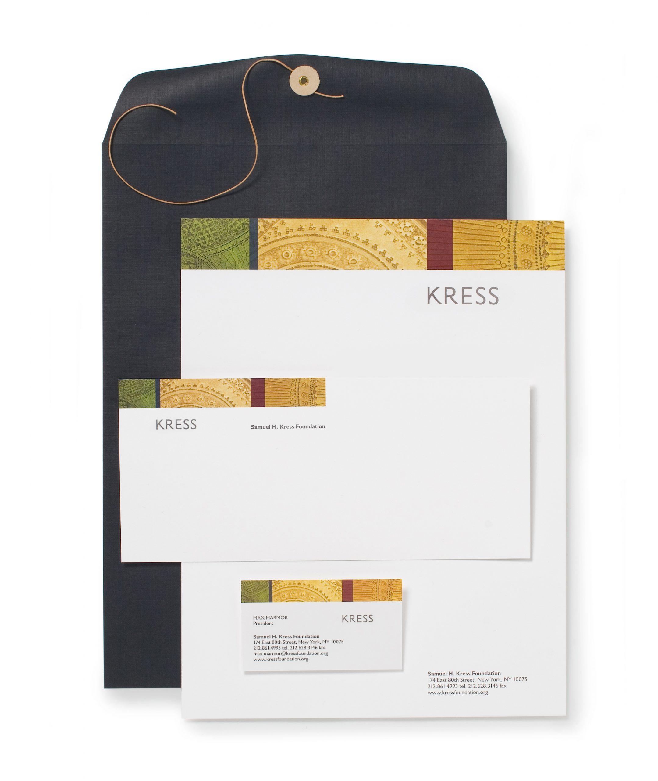 Project image 2 for Identity, Samuel H. Kress Foundation