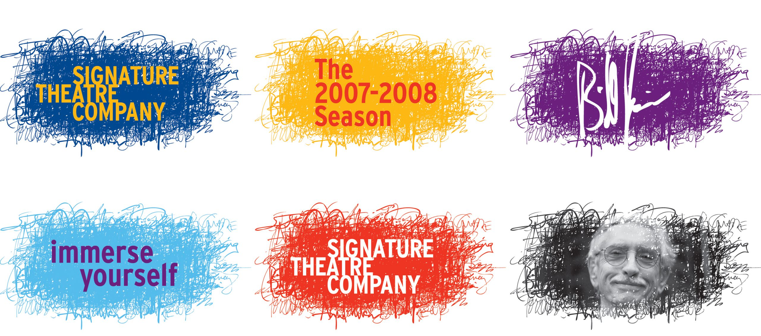 Project image 1 for Branding and Collateral Materials, Signature Theatre Company