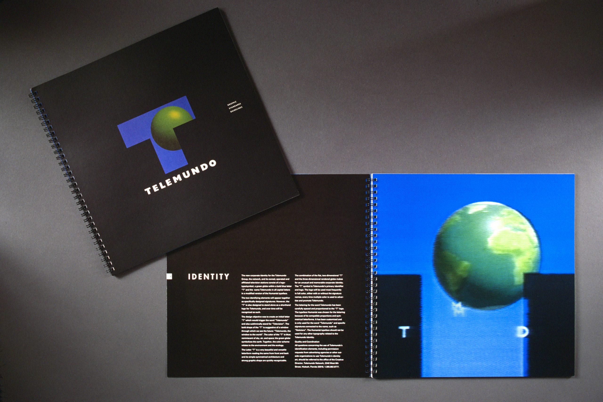 Project image 2 for Brand Identity Program, Telemundo
