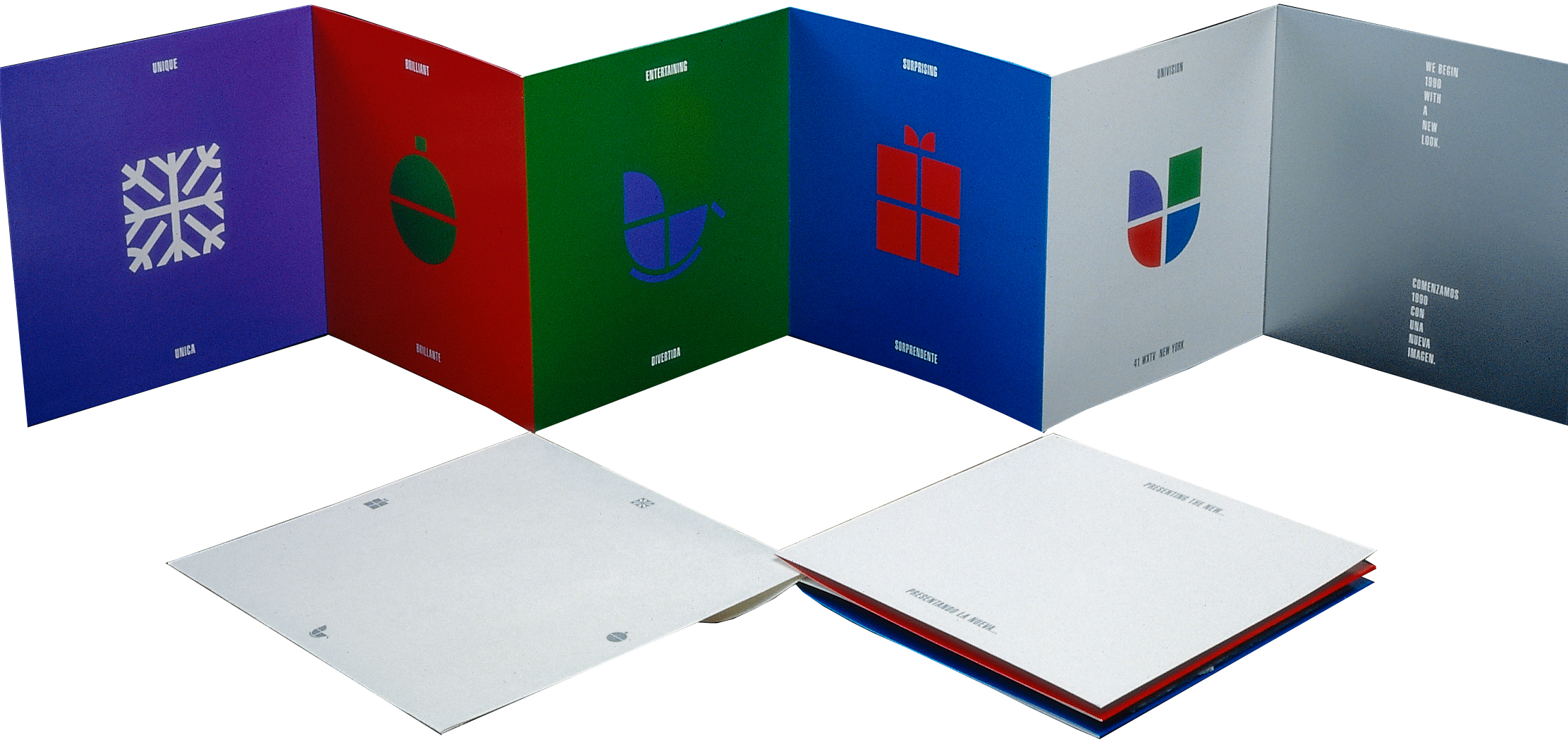 Project image 1 for Identity and Sales Collateral, Univision