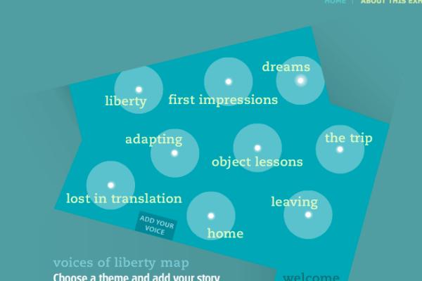 Voices of Liberty Website & Kiosk