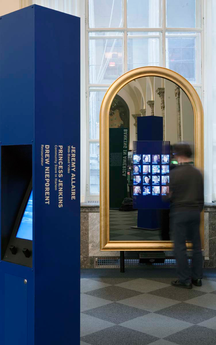 Project image 1 for Entrepreneur Mirrors, Museum of American Finance