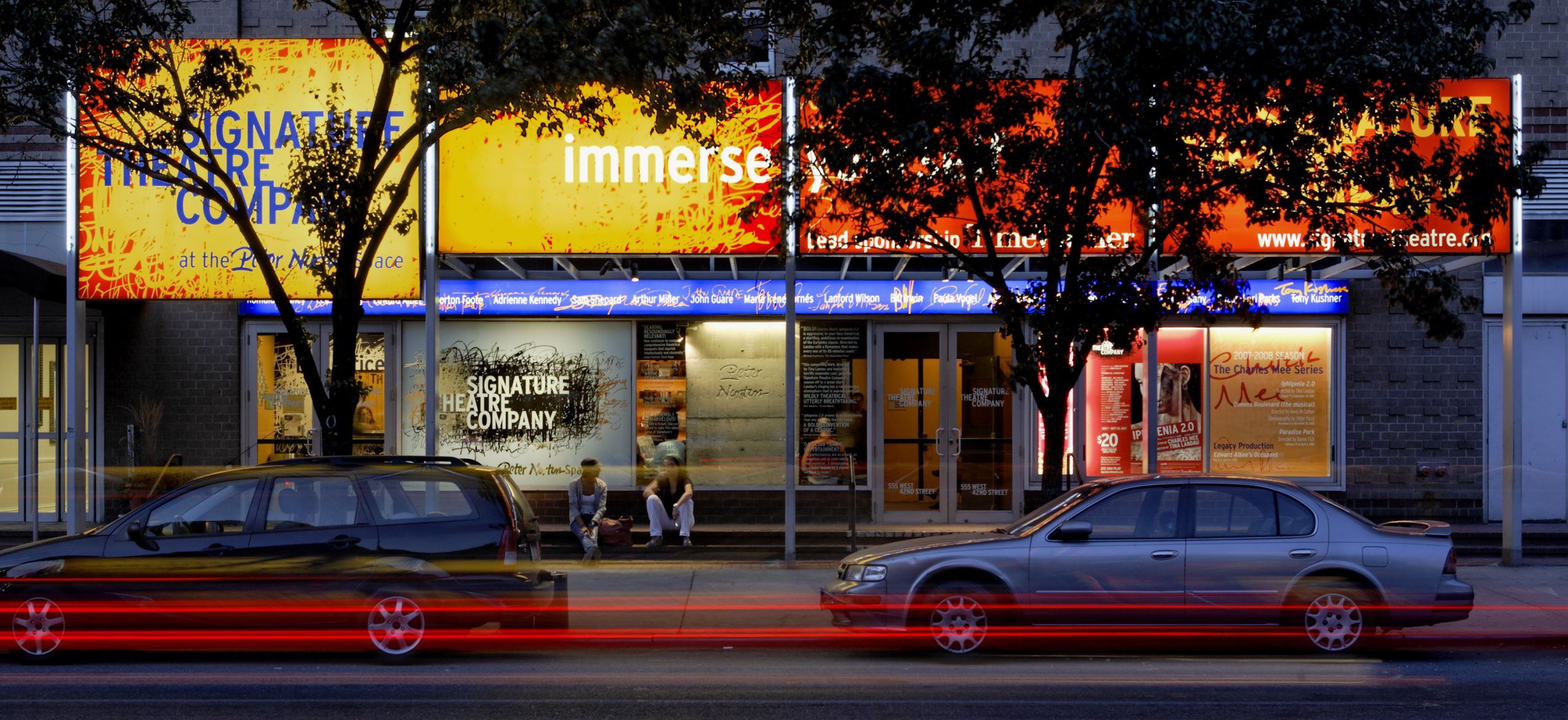 Project image 1 for Signage, Signature Theatre Company