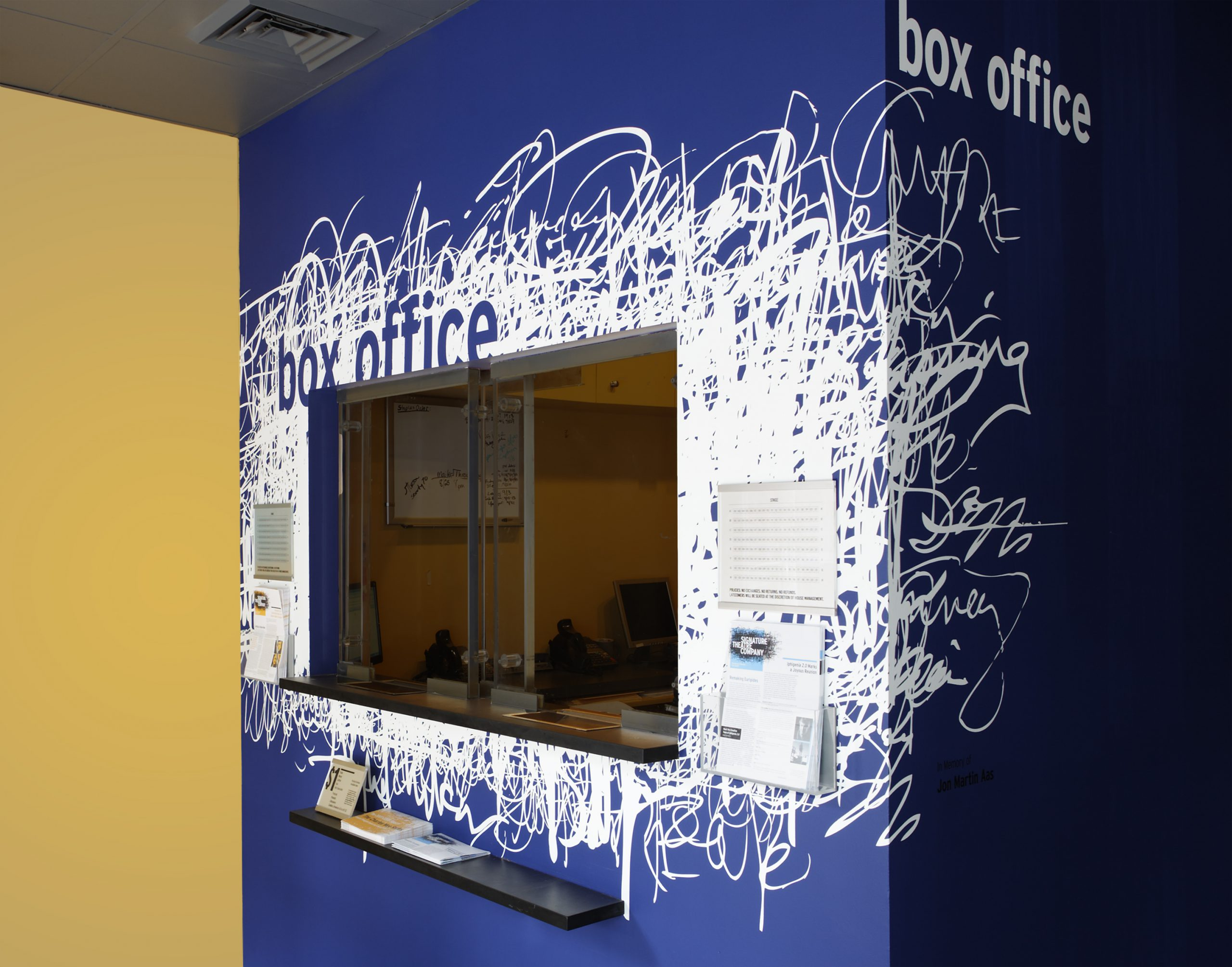 Project image 3 for Signage, Signature Theatre Company
