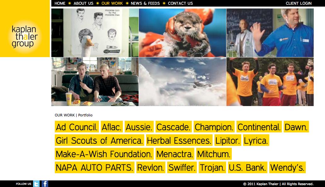 Project image 2 for Website, Kaplan Thaler Group