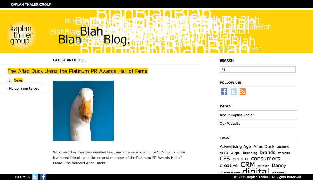 Project image 5 for Website, Kaplan Thaler Group