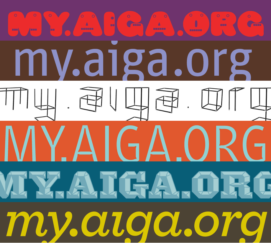 Project image 3 for my.aiga.org, American Institute of Graphic Arts