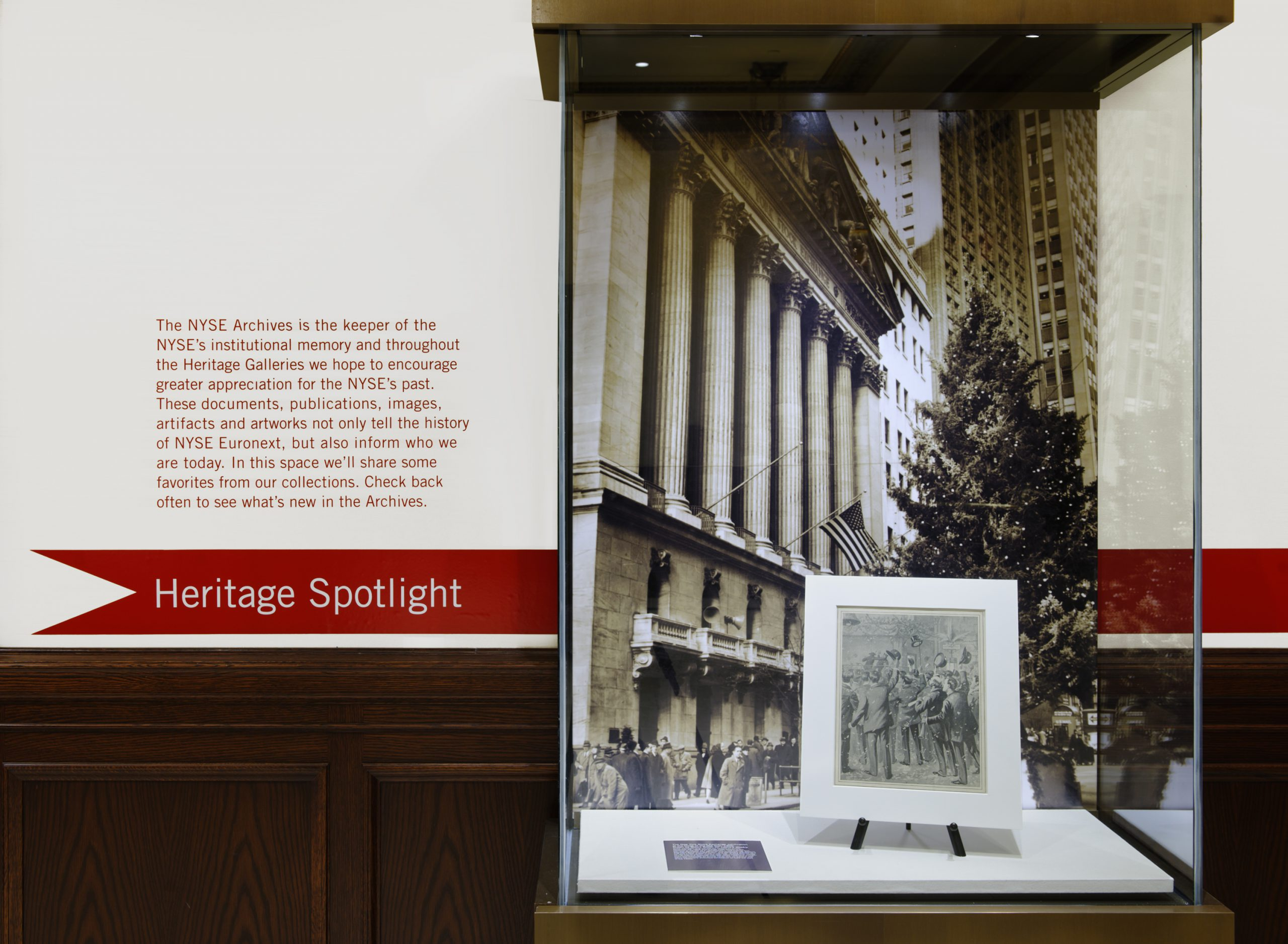 Project image 5 for NYSE Heritage Galleries, New York Stock Exchange