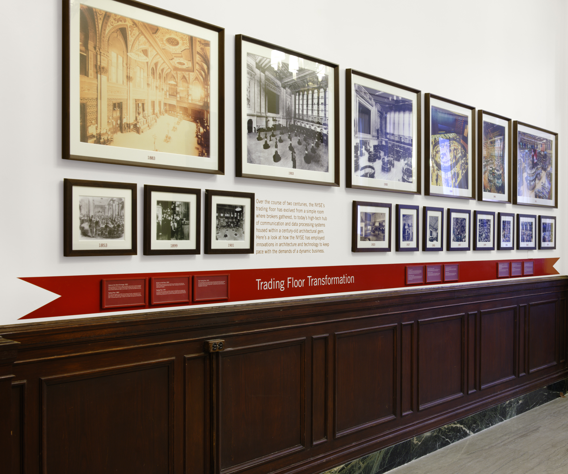 Project image 6 for NYSE Heritage Galleries, New York Stock Exchange