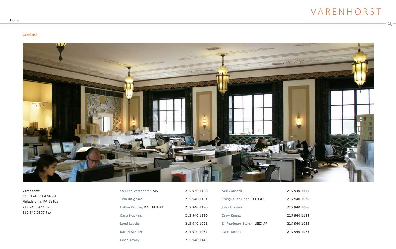 Project image 4 for Website, Varenhorst