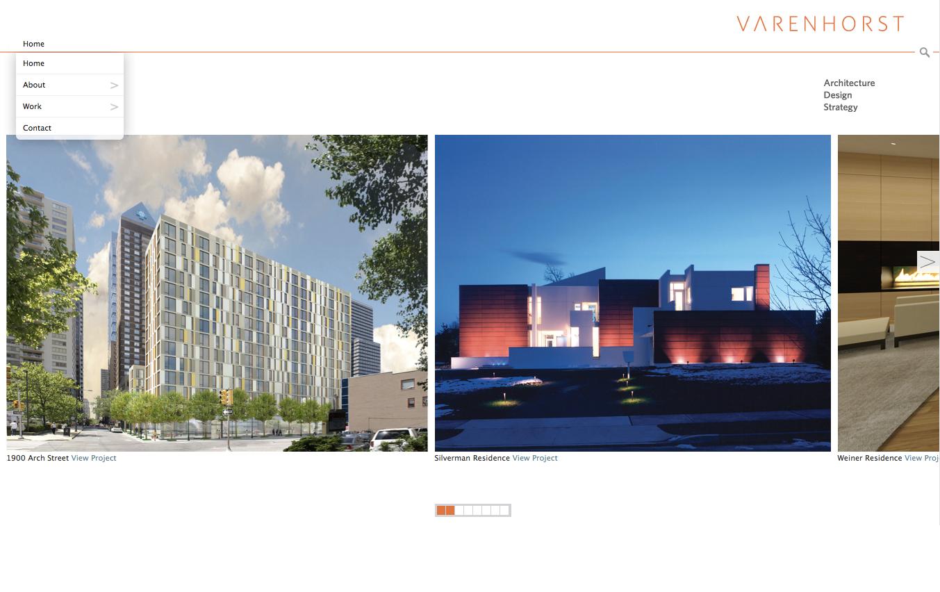 Project image 2 for Website, Varenhorst