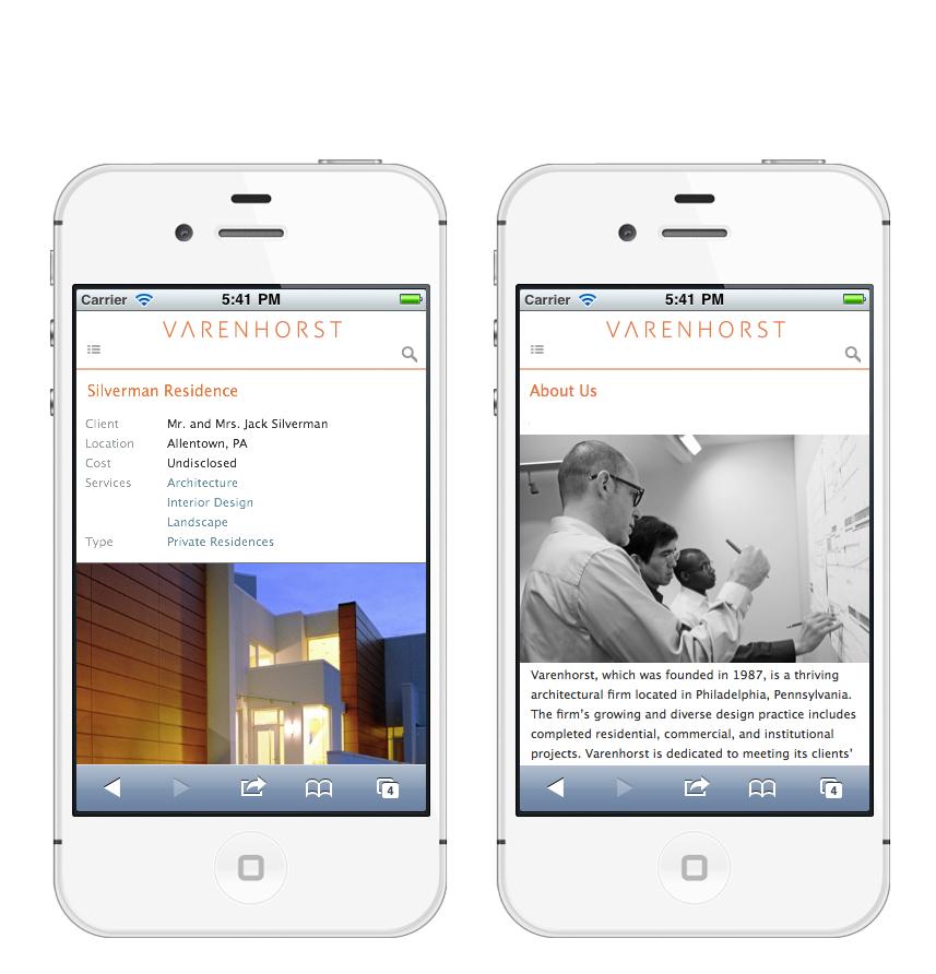 Project image 5 for Website, Varenhorst