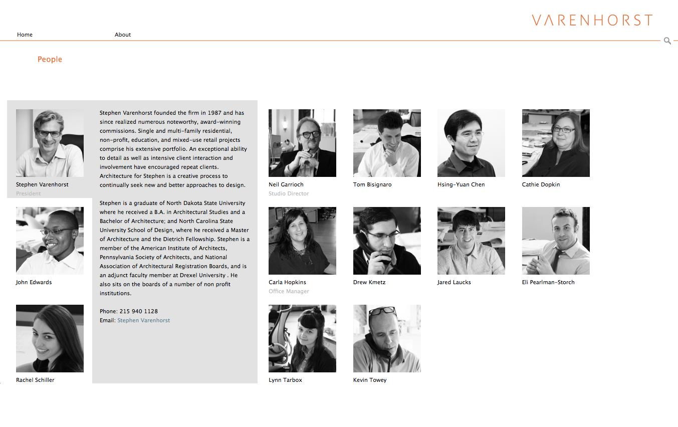 Project image 3 for Website, Varenhorst