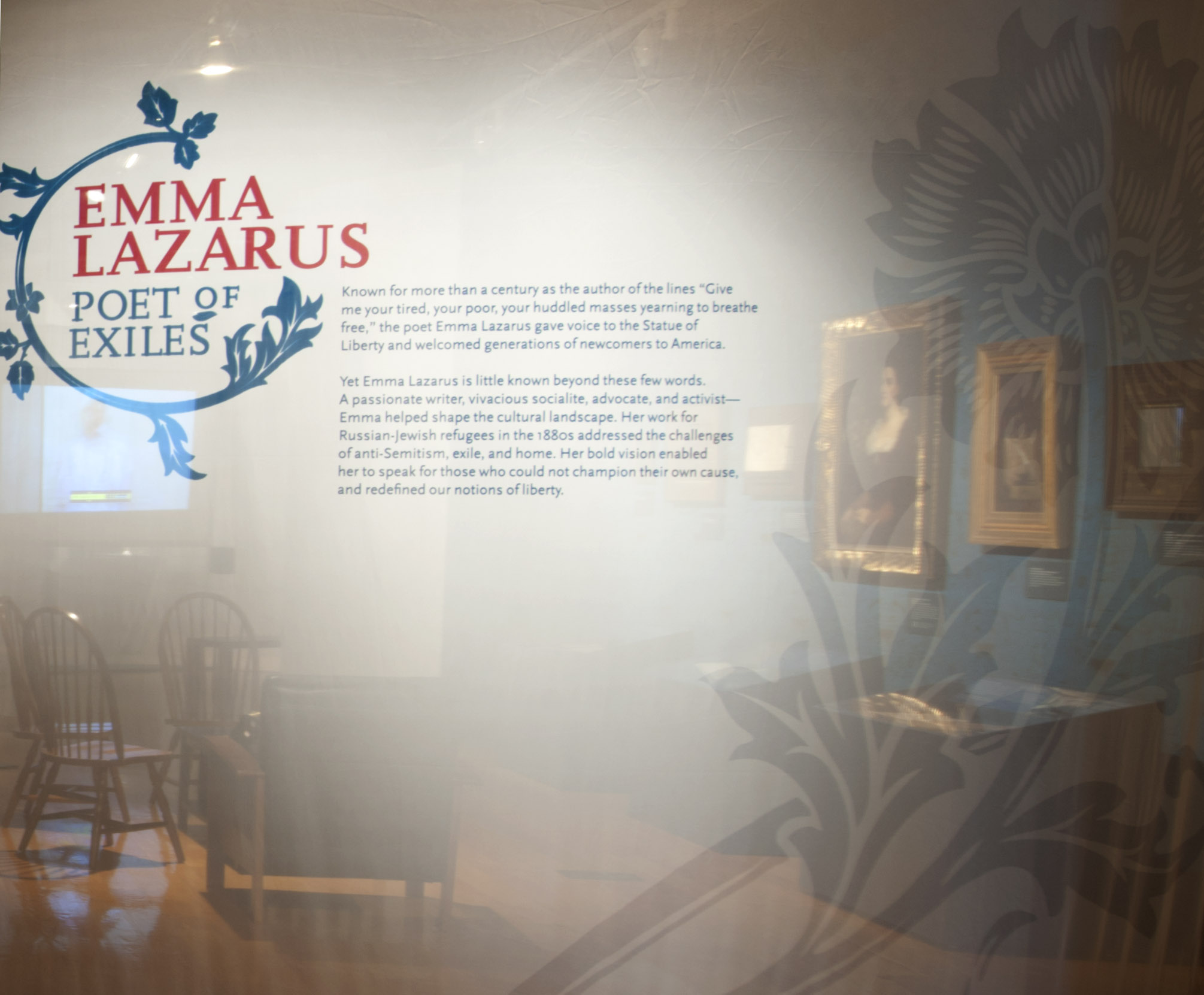 Project image 1 for Emma Lazarus: Poet of Exiles, Museum of Jewish Heritage
