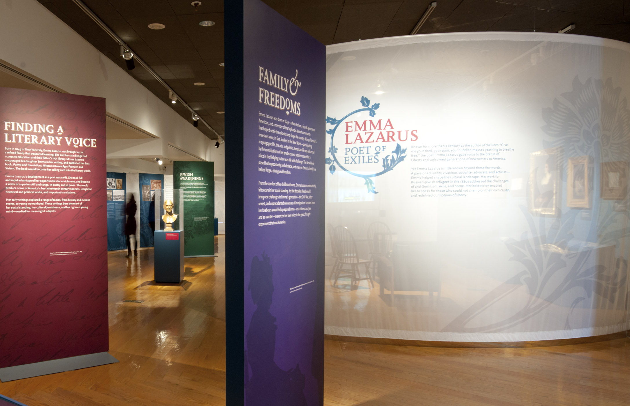 Project image 2 for Emma Lazarus: Poet of Exiles, Museum of Jewish Heritage