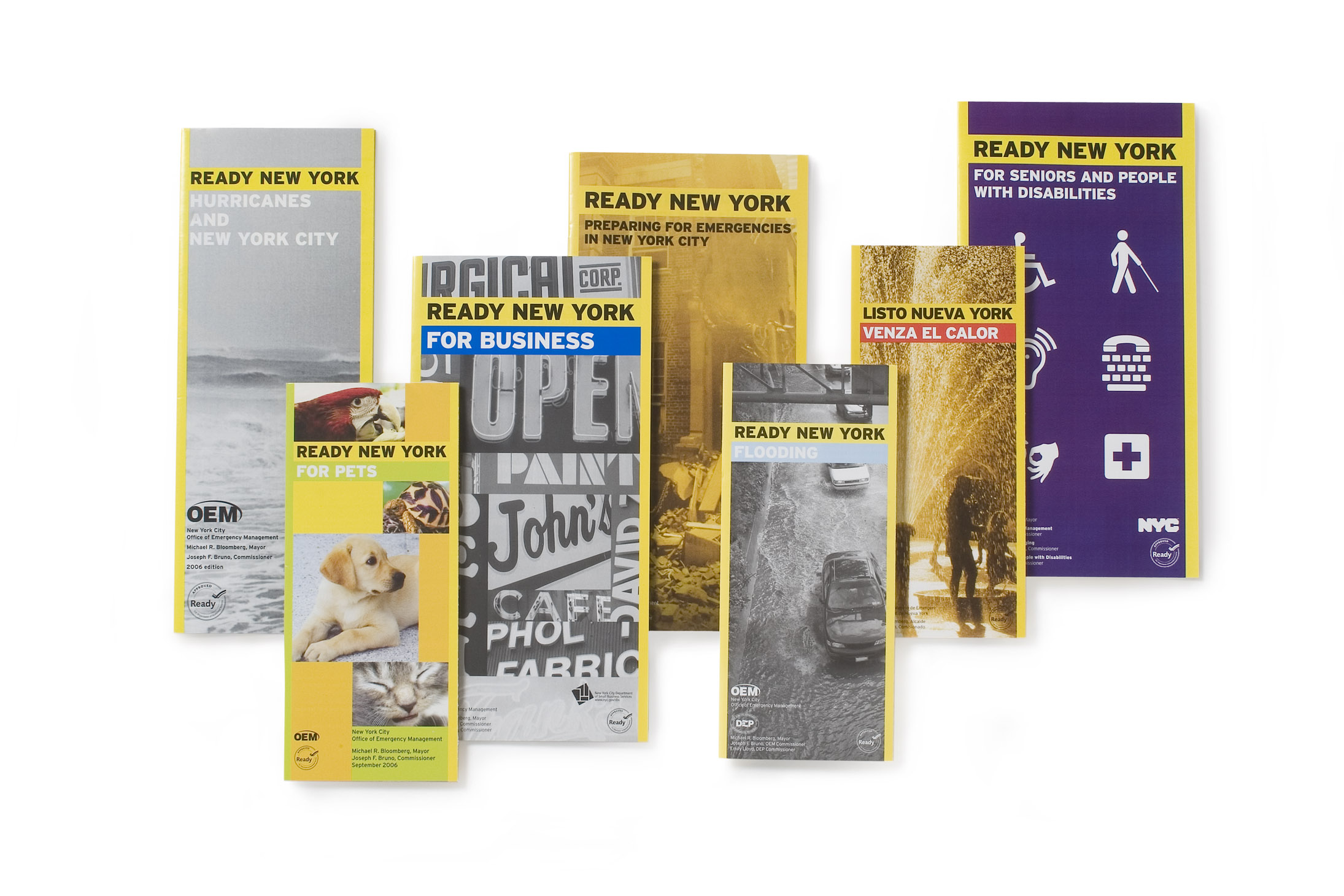 Project image 4 for Brochures, New York City Office of Emergency Management