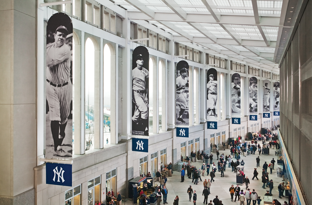 Project image 1 for Stadium Graphics, New York Yankees