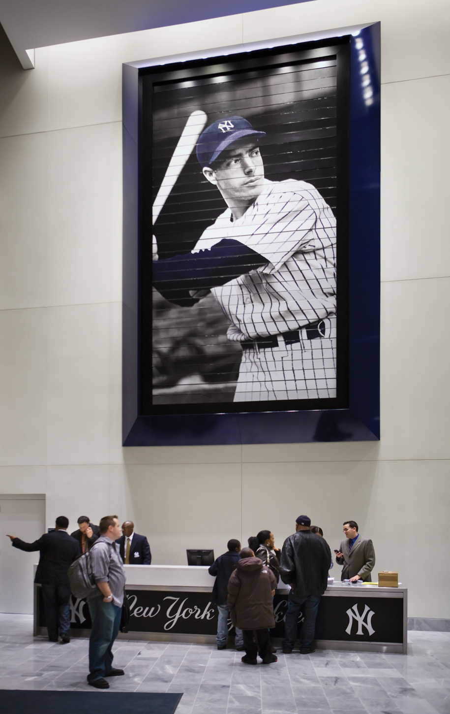 Project image 2 for Stadium Graphics, New York Yankees
