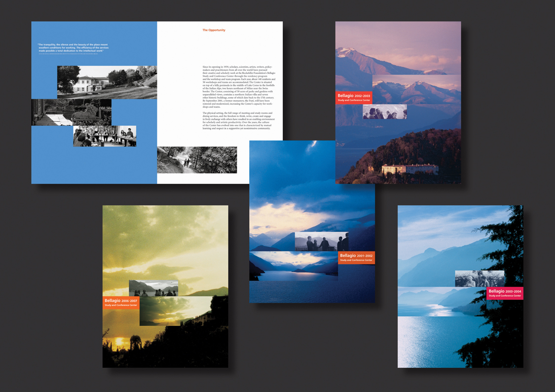 Project image 1 for Bellagio Study and Conference Center Brochures, Rockefeller Foundation
