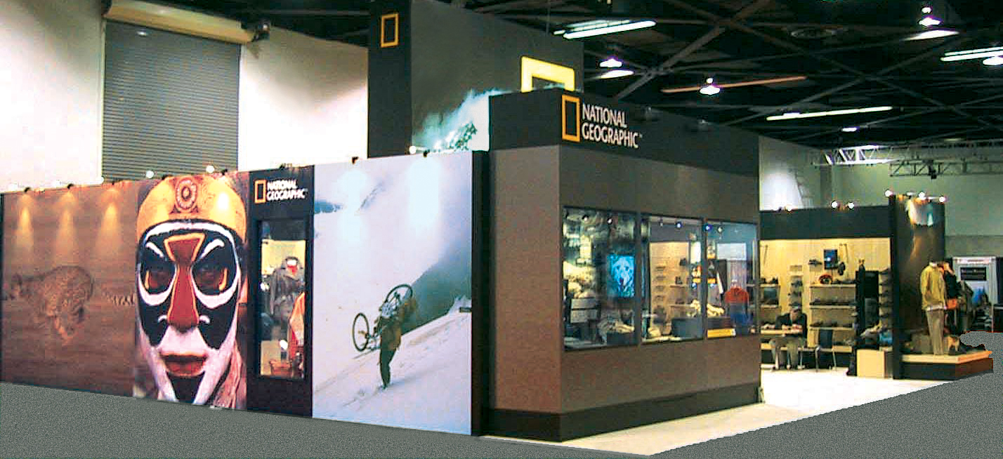 Project image 1 for Trade Show Booth, National Geographic Society