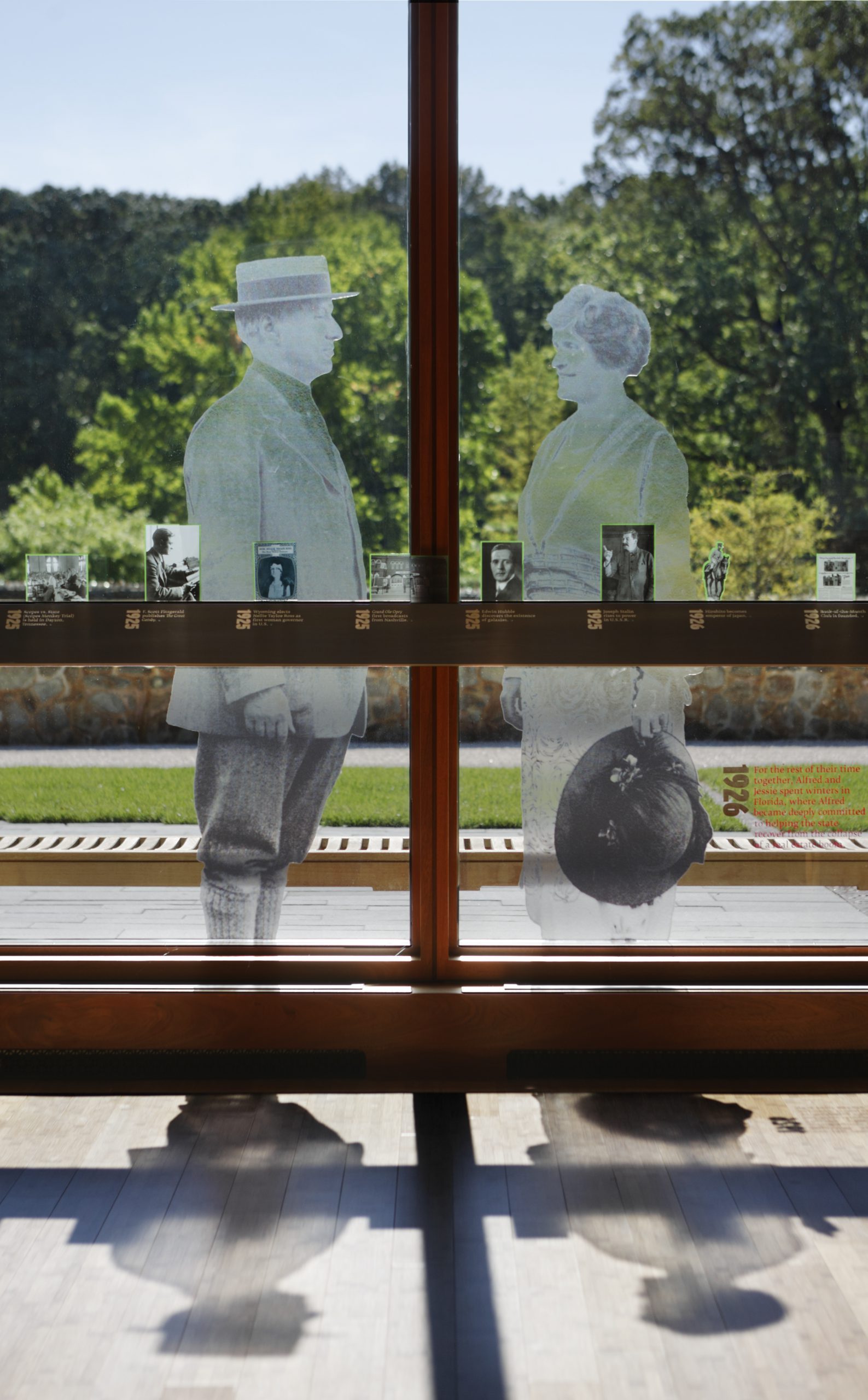 Project image 3 for Visitor Center Exhibits, Nemours Mansion & Gardens