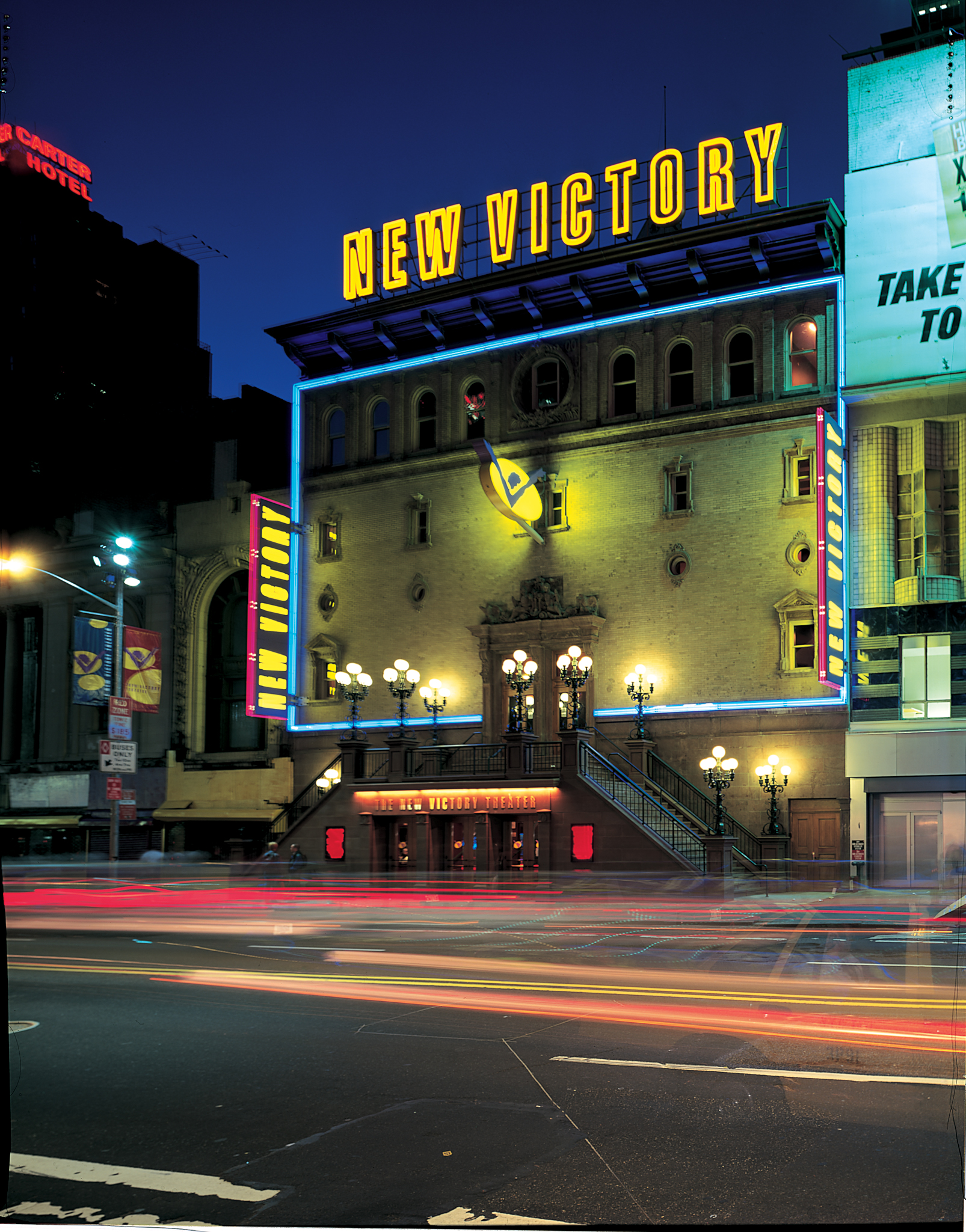 Project image 1 for New Victory Theater Signage, New 42nd Street Corporation