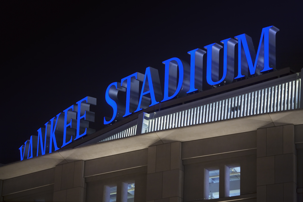 Project image 1 for Signs, New York Yankees
