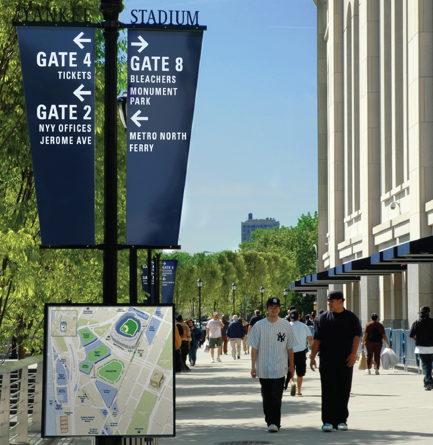 Project image 5 for Signs, New York Yankees