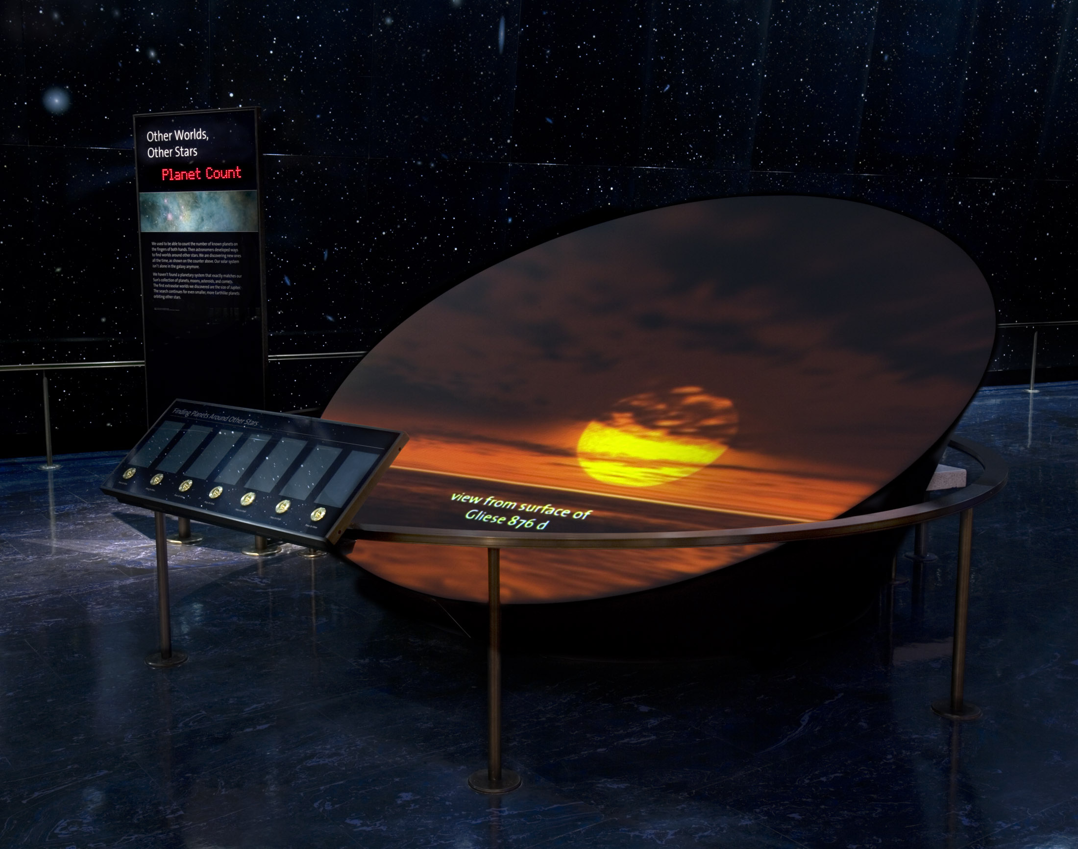 Project image 9 for Permanent Exhibits, Griffith Observatory