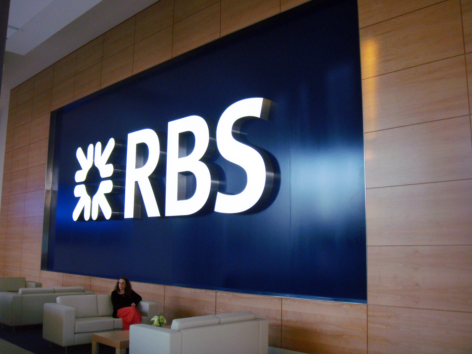 Project image 2 for Signage and Architectural Graphics, RBS / Royal Bank of Scotland