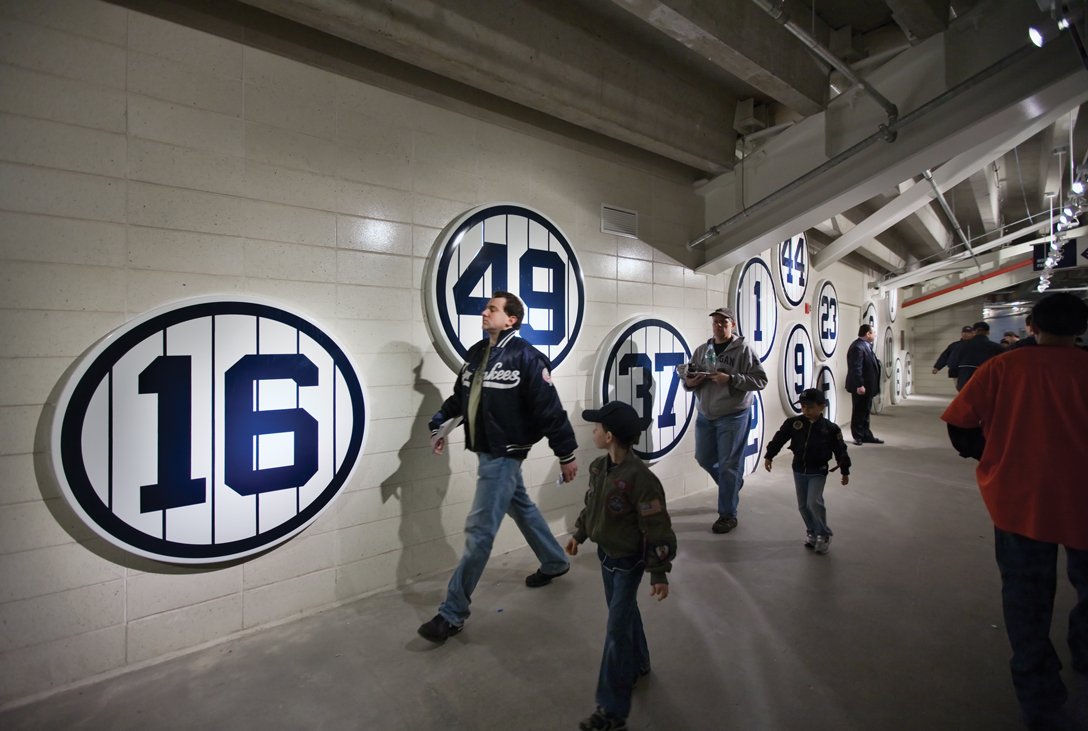 Project image 8 for Stadium Graphics, New York Yankees