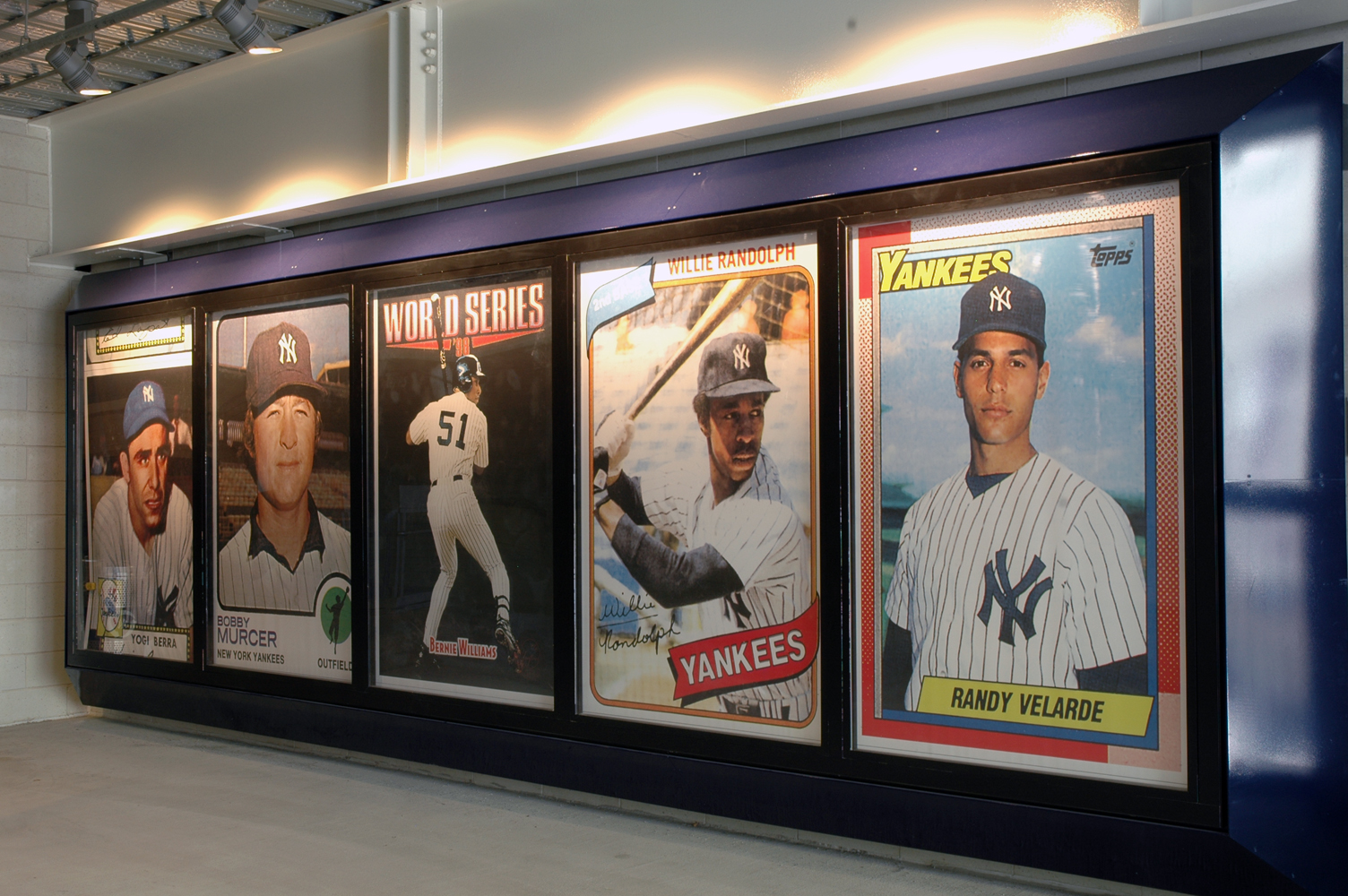 Project image 3 for Stadium Graphics, New York Yankees