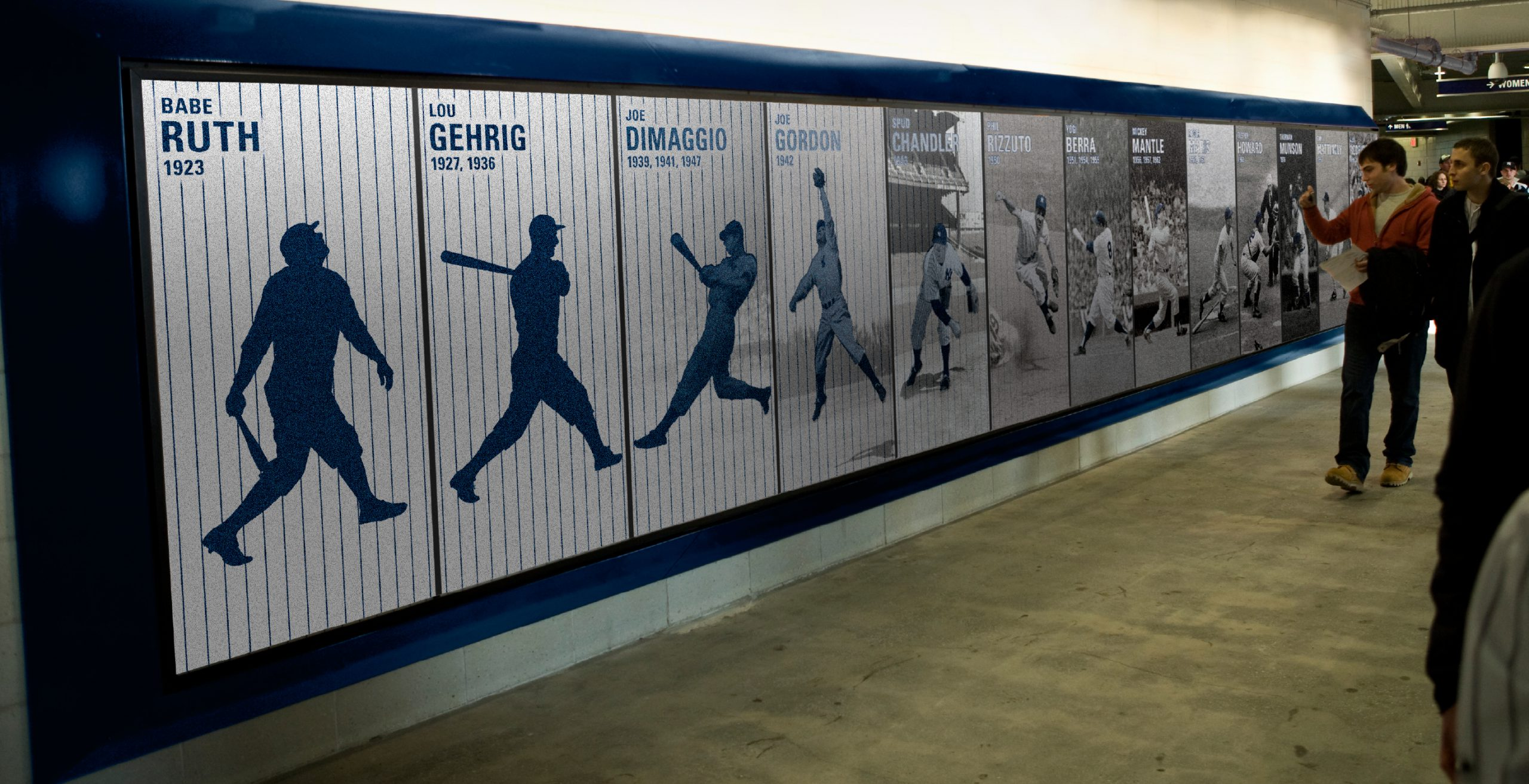 New York Yankees Architectural Stadium Graphics Project Image