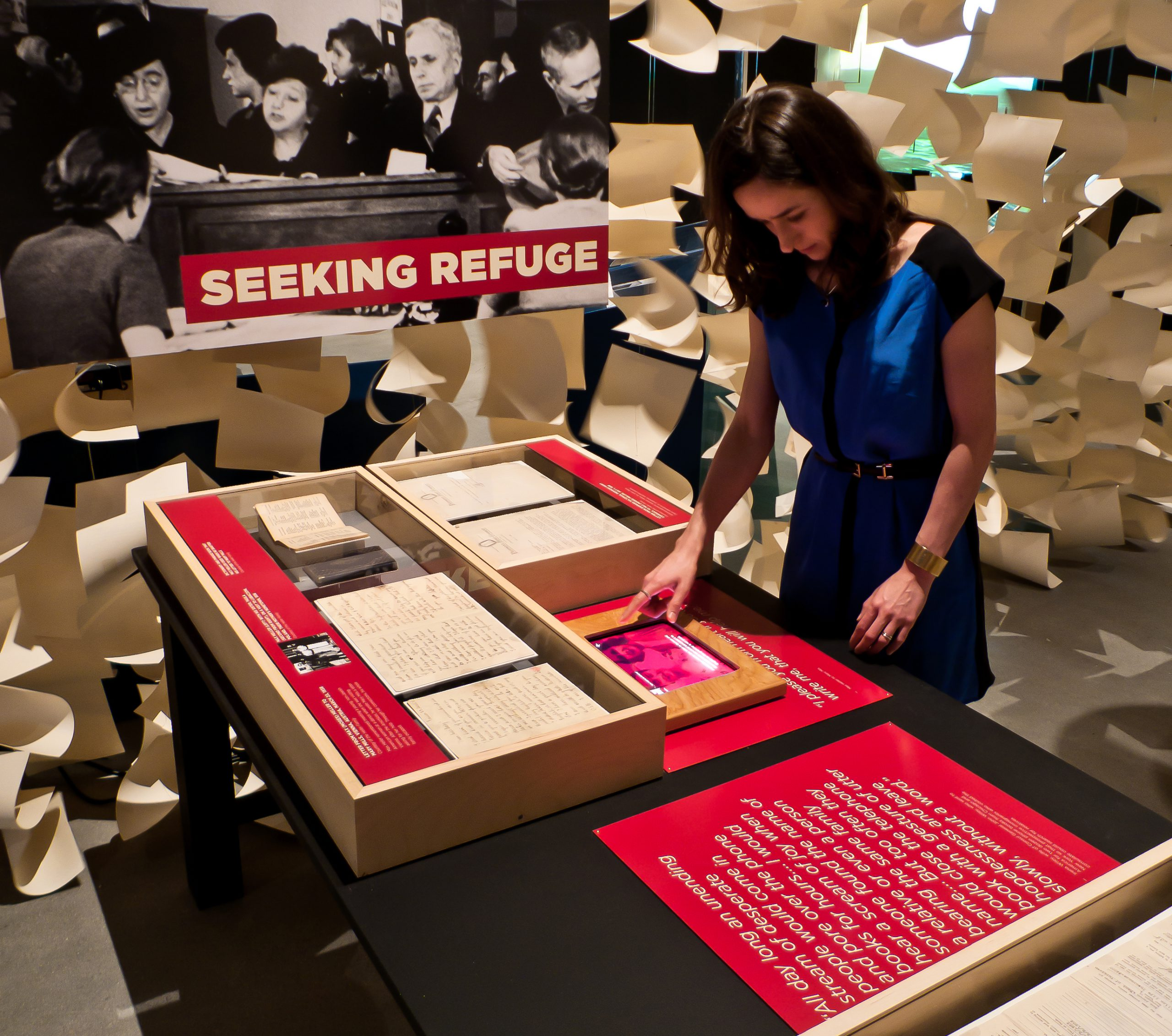 Project image 3 for Against the Odds, Museum of Jewish Heritage
