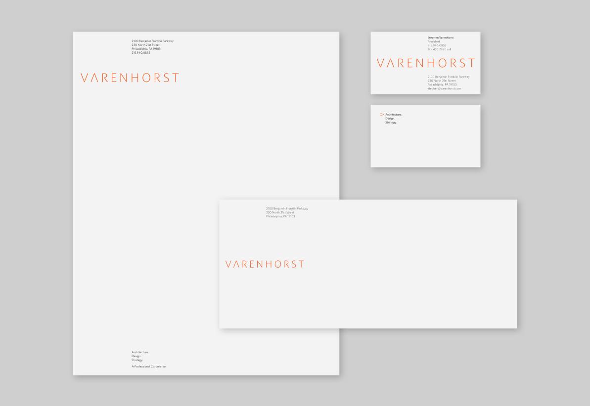 Project image 3 for Identity, Varenhorst