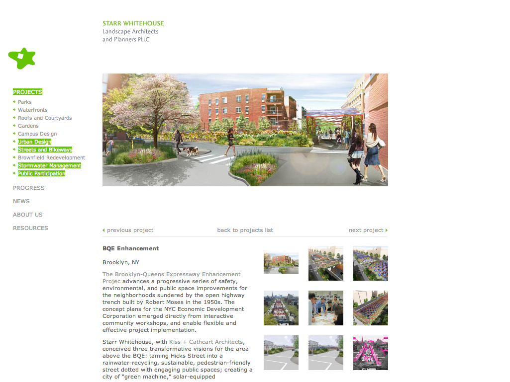 Project image 5 for Website, Starr Whitehouse